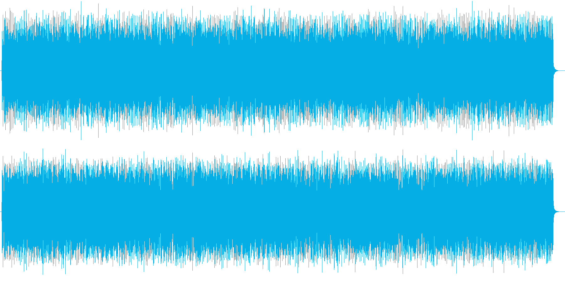 元気で楽しいポップなギターサウンドの再生済みの波形