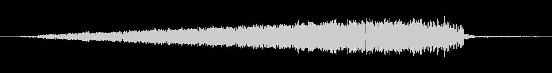 シューッという音EC07_87_5の未再生の波形