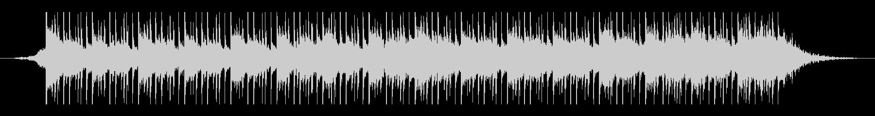 アラビア音楽(45秒)の未再生の波形