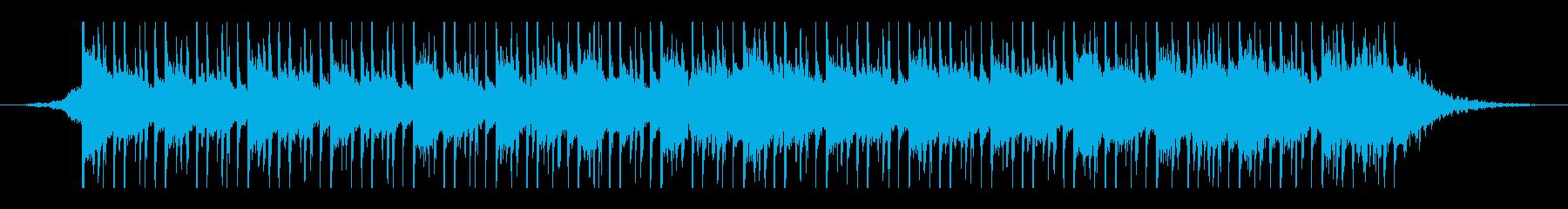 アラビア音楽(45秒)の再生済みの波形