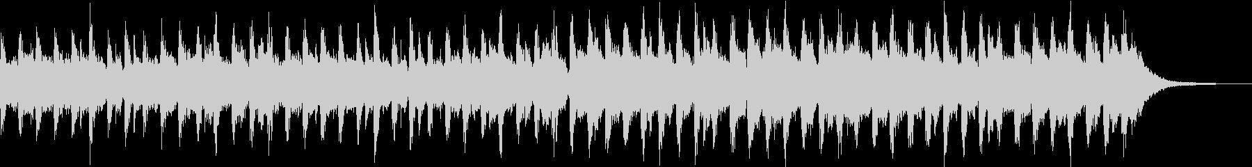 ヴァイオリン・マリンバ/コミカルジングルの未再生の波形
