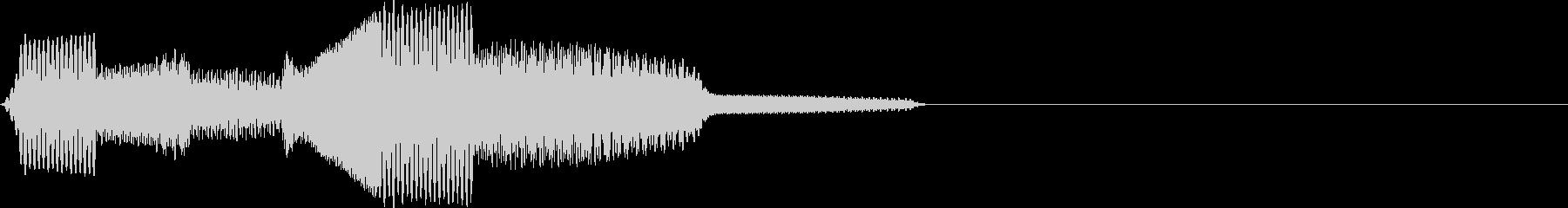 ポコポン(click_043_ボタン)の未再生の波形