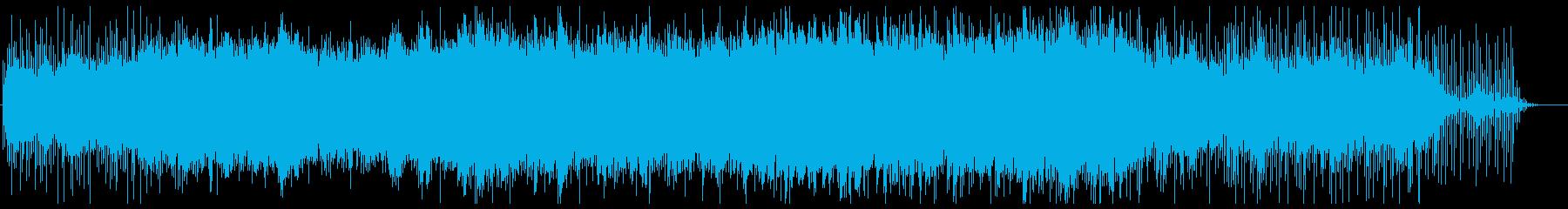 春へと移りゆく様子をイメージしたBGMの再生済みの波形
