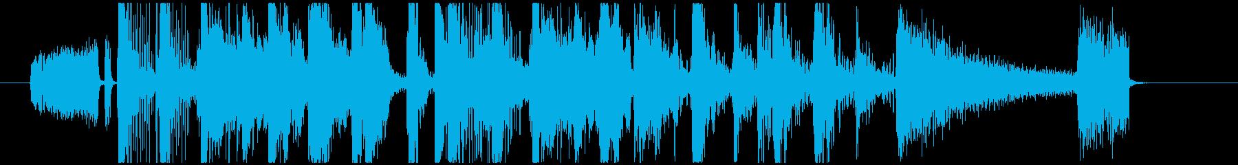 エレクトロ_ハイクオリティージングル_6の再生済みの波形