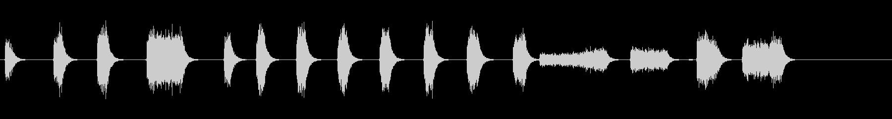 エアチゼル;ガレージリバーブを使用...の未再生の波形
