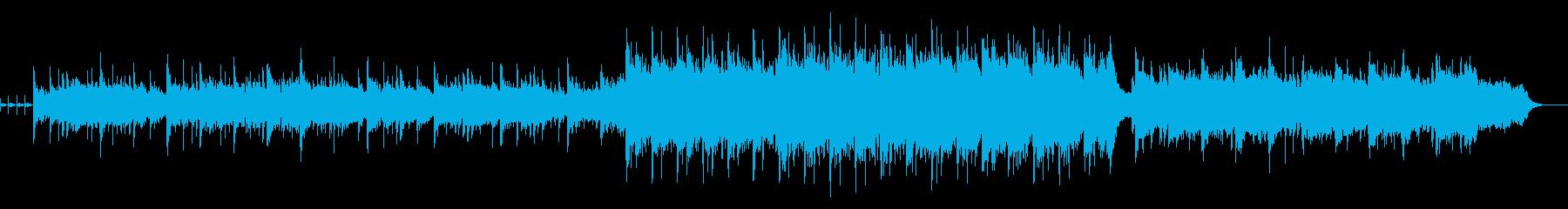 琴でメロディ―を奏でる壮大なオリジナル曲の再生済みの波形