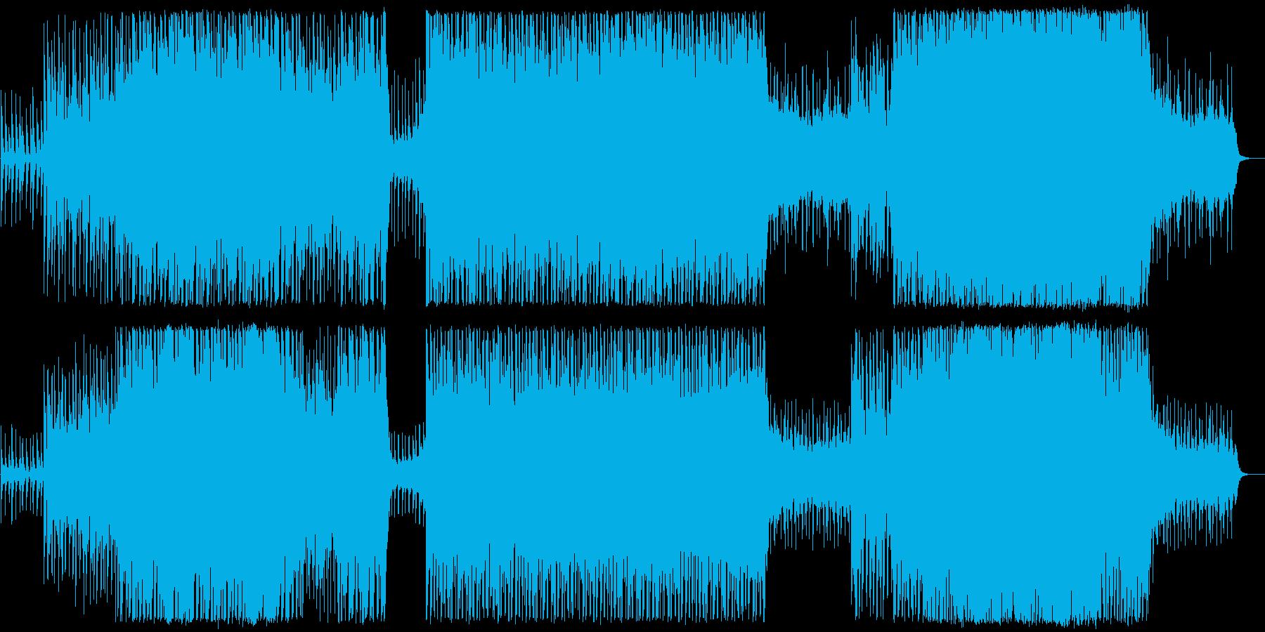 現代の交響曲 劇的な 神経質 エキ...の再生済みの波形