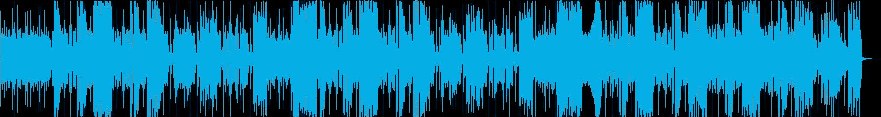 GAME】クールな80'sハードロックの再生済みの波形