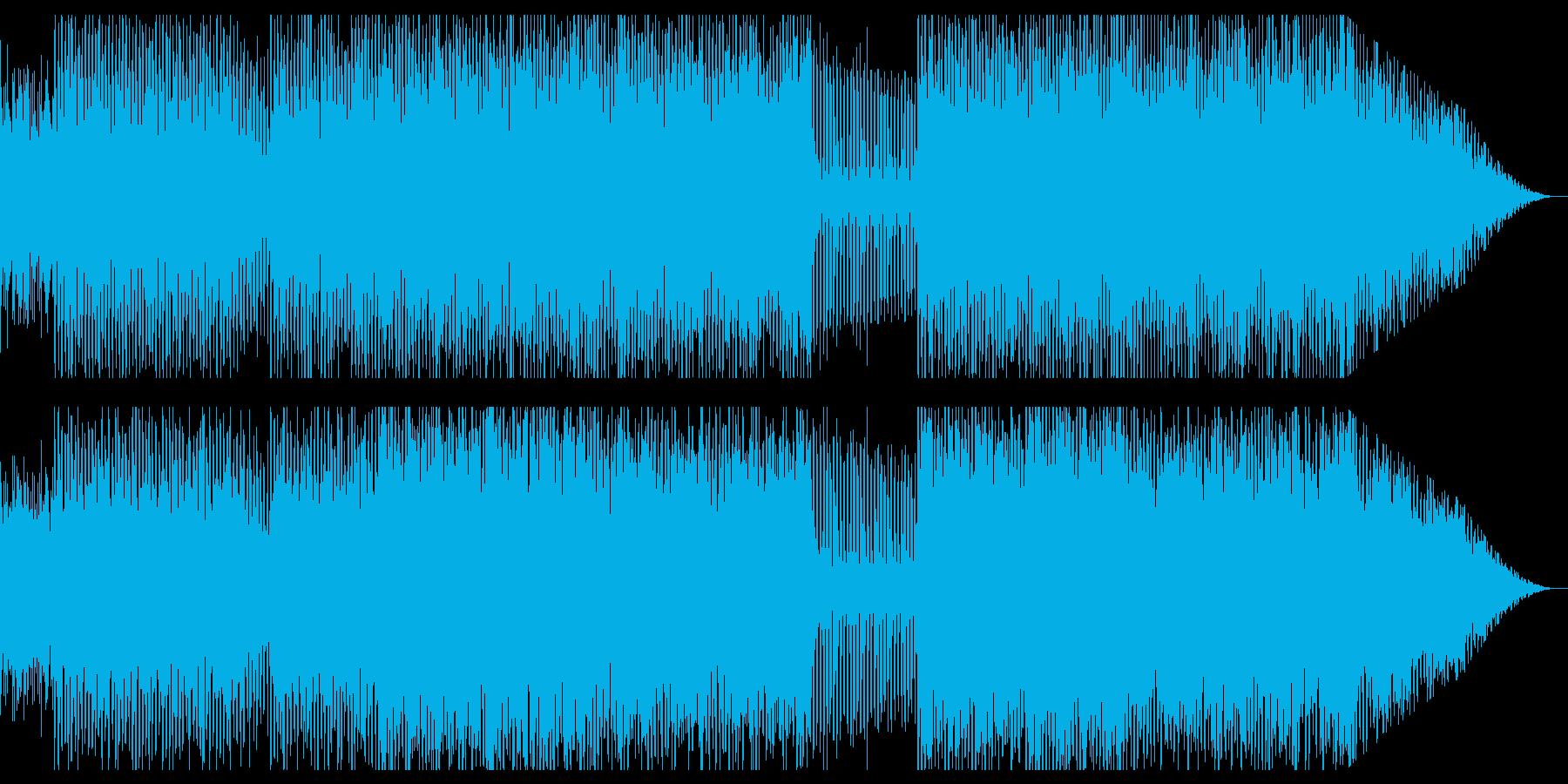 謎解き/ミステリー/奇妙/テクノの再生済みの波形