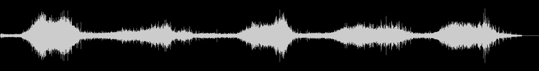 ゴットランド島の波の音 強め ザザーの未再生の波形