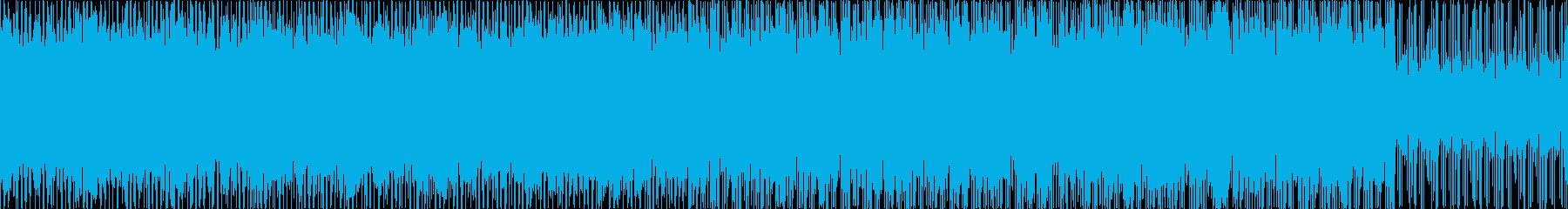 お洒落・ポジティブ・シンプルなBGM、Lの再生済みの波形