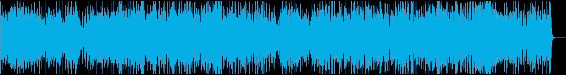 アップテンポなインテリ系ジャズボサノバの再生済みの波形