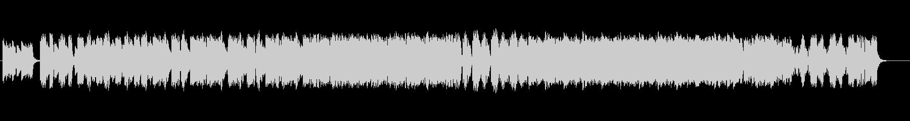 4手の鍵盤打楽器によるミニマルの未再生の波形
