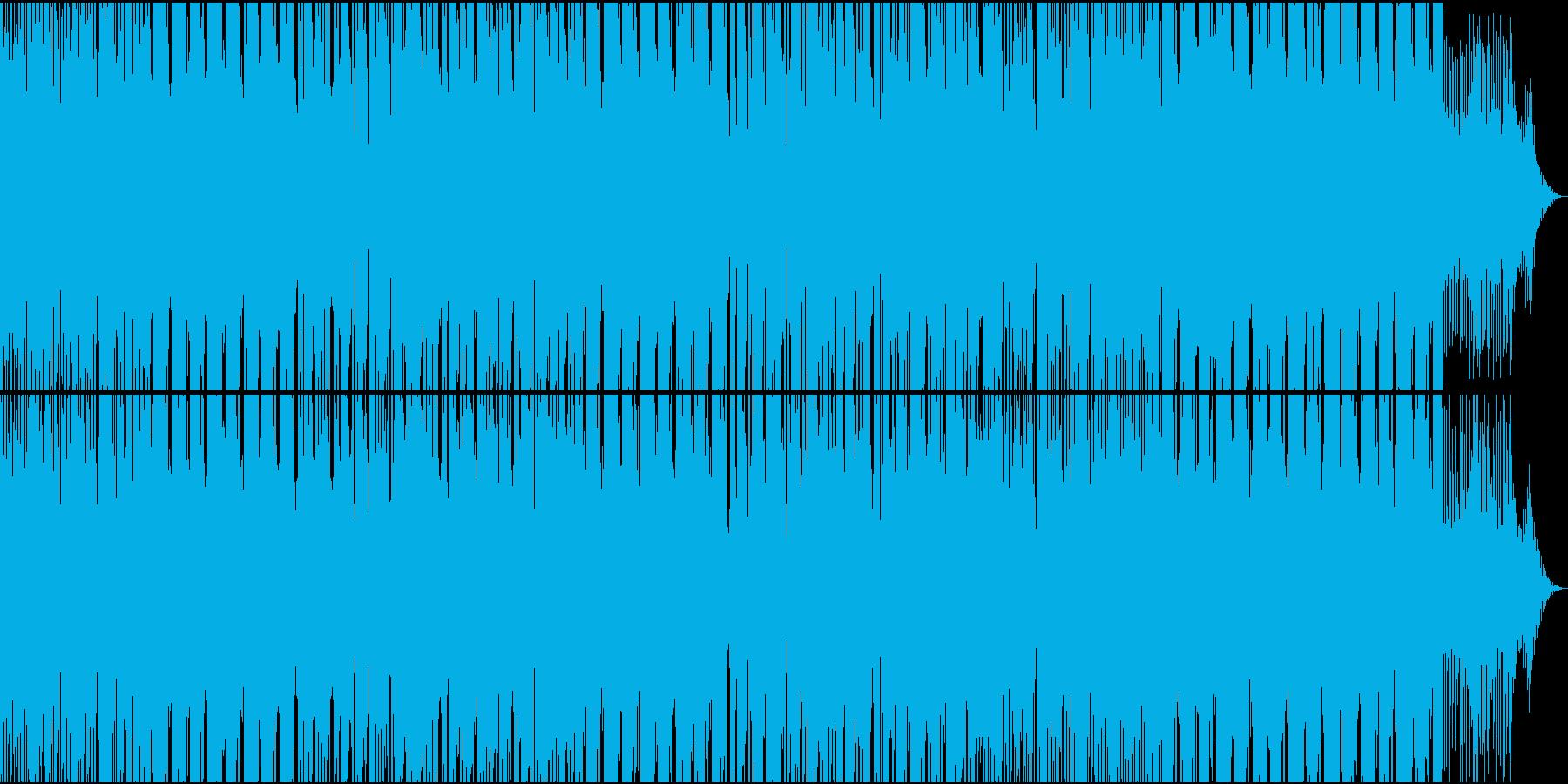 コンテンポラリーR&B系スローラウンジ曲の再生済みの波形