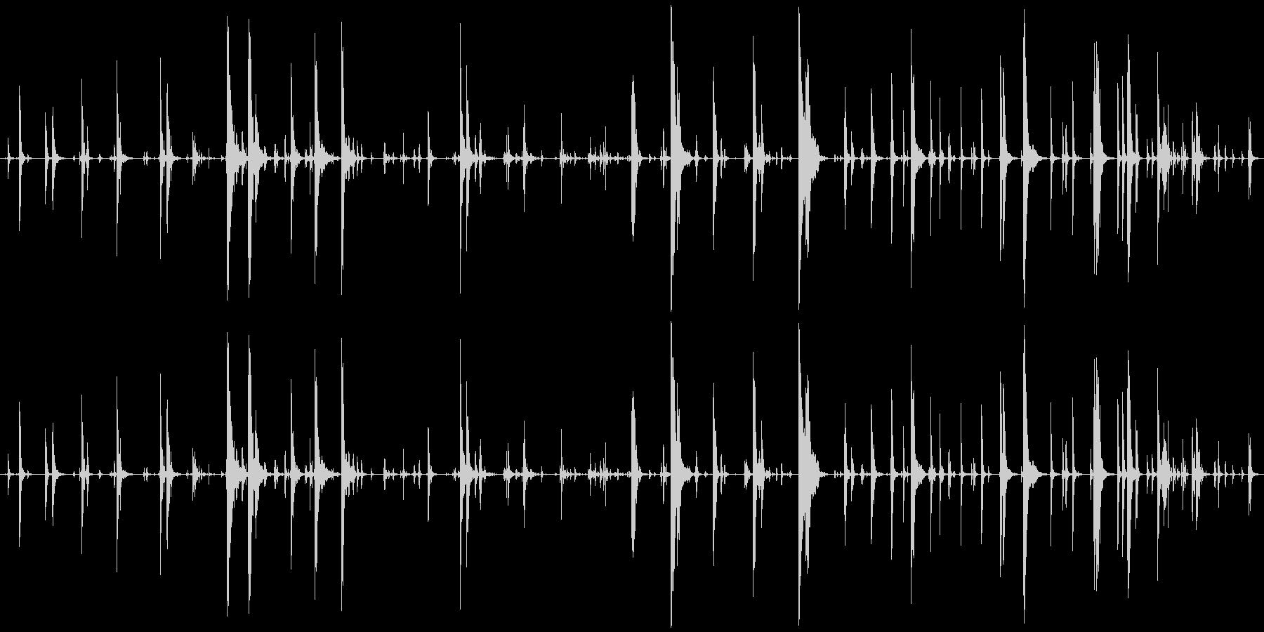 家庭 カップガラガラジングル03の未再生の波形
