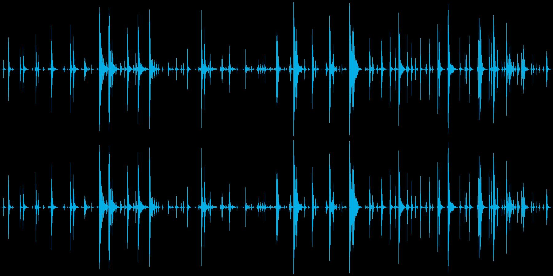 家庭 カップガラガラジングル03の再生済みの波形