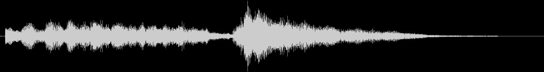 【エレキギター アルペジオ】の未再生の波形