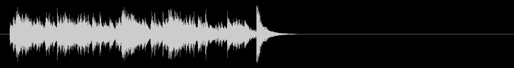 着信音などに使える不思議な感じのジングルの未再生の波形