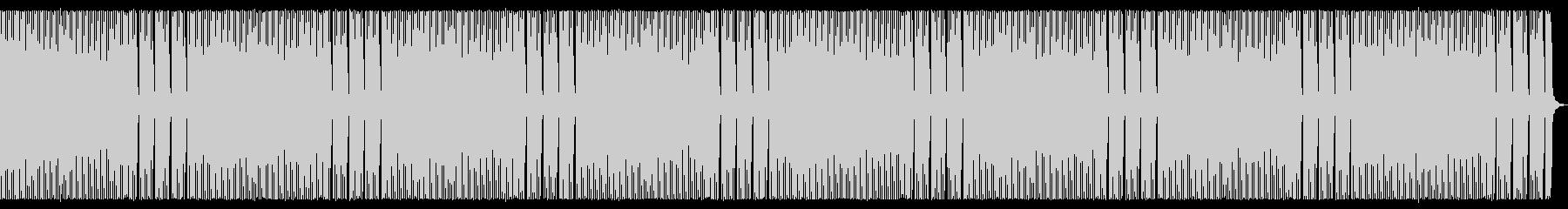 8bit レトロなほのぼのBGMの未再生の波形