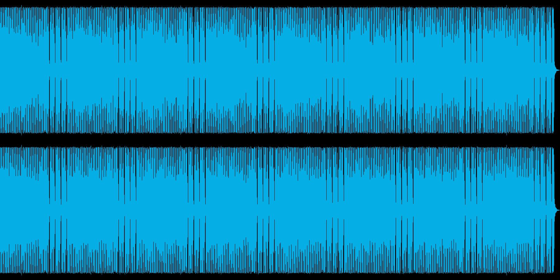 8bit レトロなほのぼのBGMの再生済みの波形