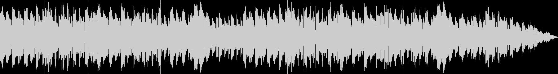 懐かしい雰囲気のシューティング系BGMの未再生の波形