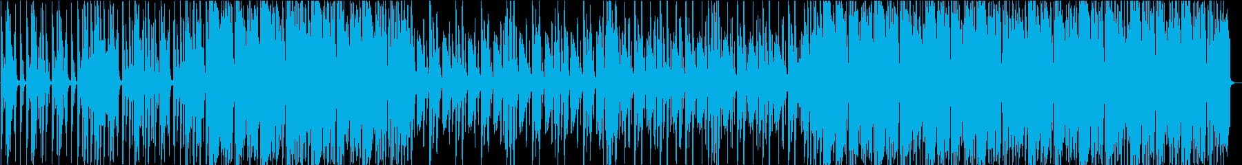 ぽんぽことしたテクノハウスの再生済みの波形