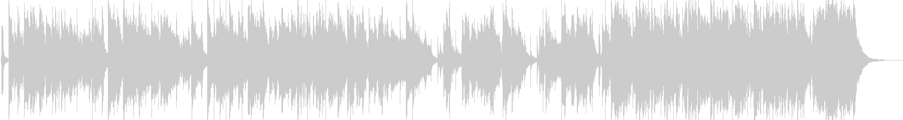 日本伝統音楽5(尺八+和太鼓)の未再生の波形