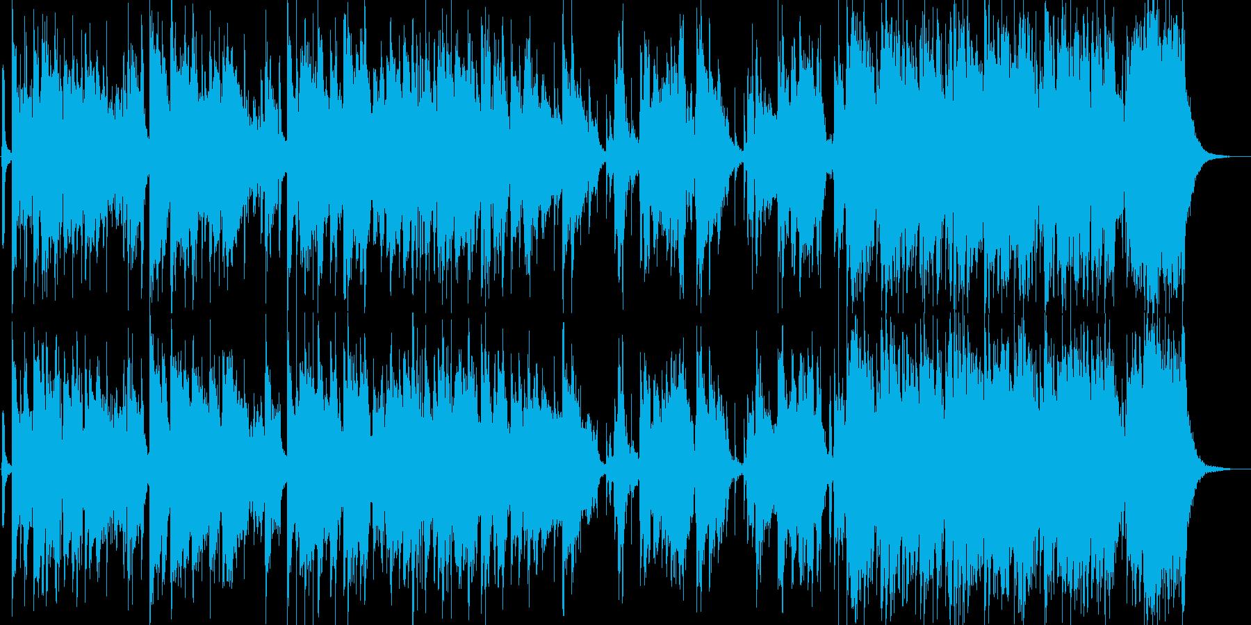 日本伝統音楽5(尺八+和太鼓)の再生済みの波形