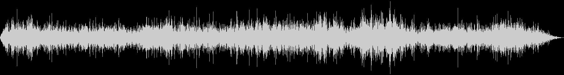 アンティークチューブ無線ラジオの未再生の波形