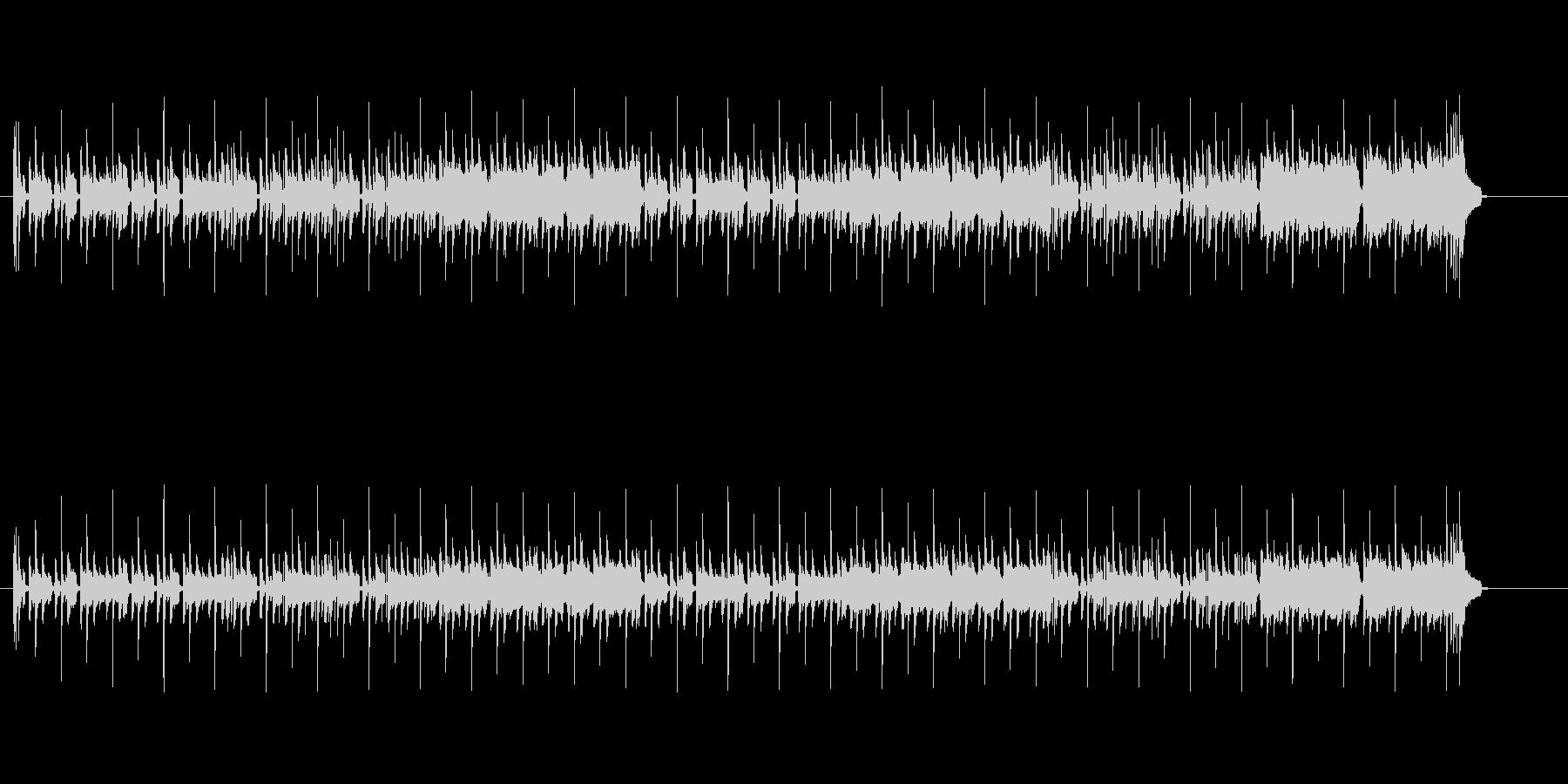コミカル・タッチ(レゲエ風)の未再生の波形