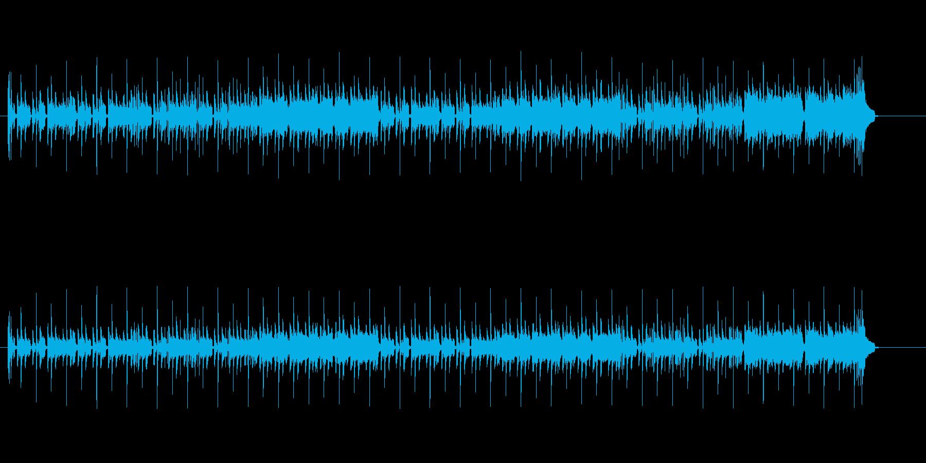 コミカル・タッチ(レゲエ風)の再生済みの波形