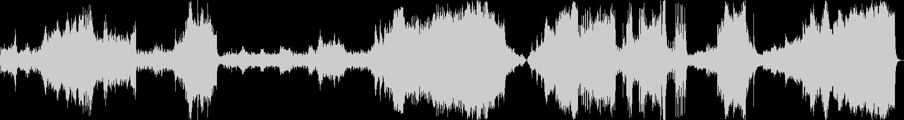 気球旅行記-出発から目的地到着までの軌跡の未再生の波形