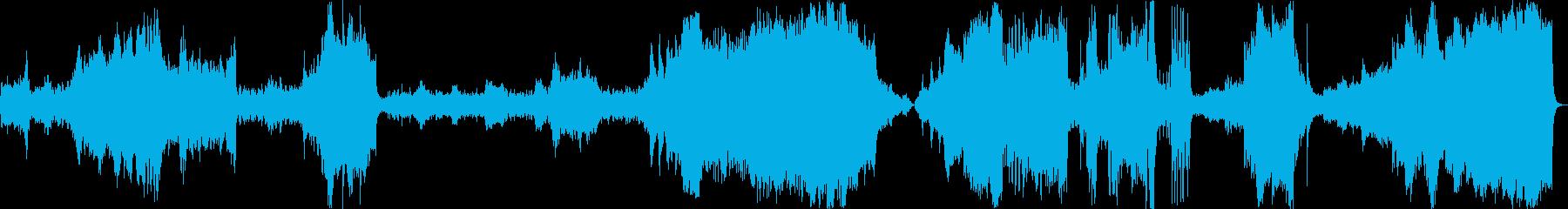気球旅行記-出発から目的地到着までの軌跡の再生済みの波形