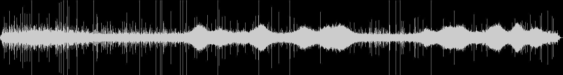 【生録音】雨の街の環境音 1 の未再生の波形