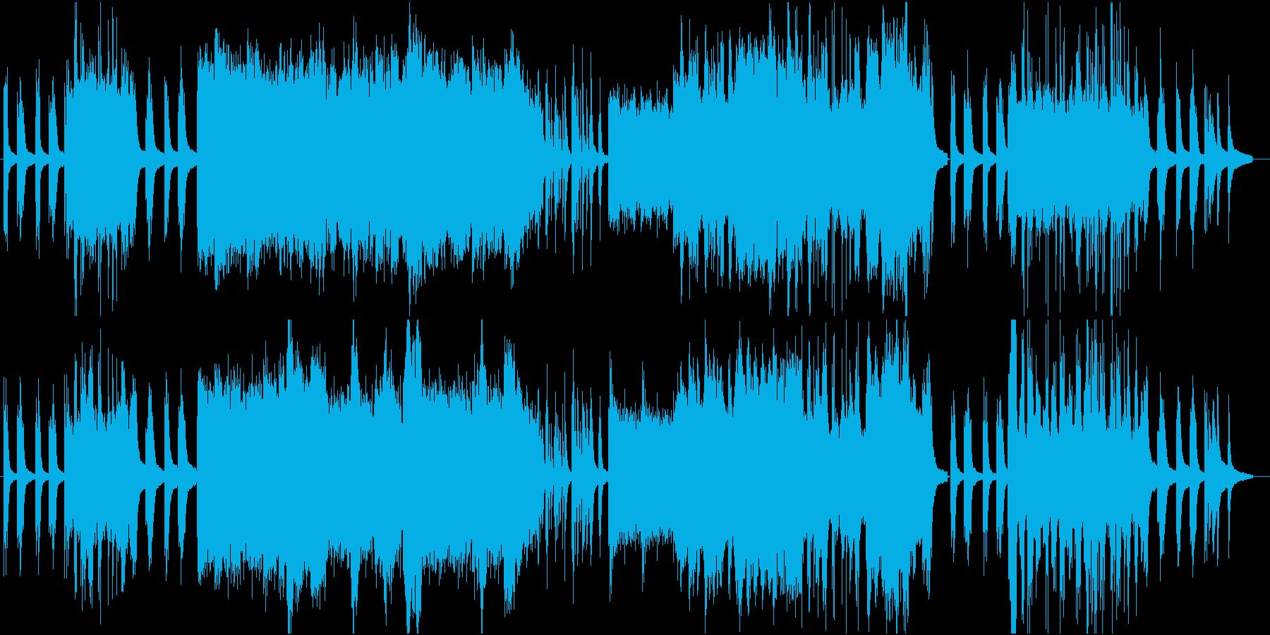 大自然を感じる少し切なさもあるピアノソロの再生済みの波形