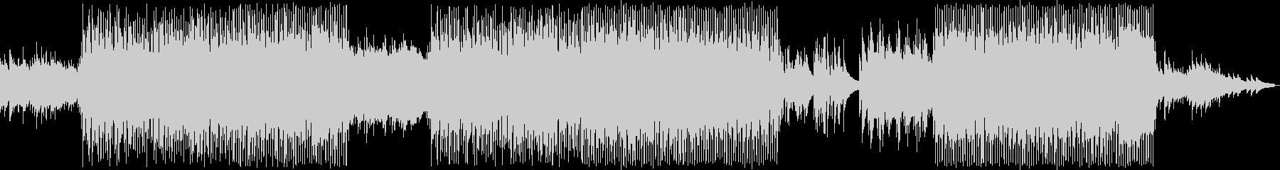琴のメロディと優しいエレピの和風ポップの未再生の波形