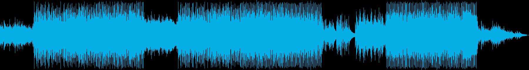 琴のメロディと優しいエレピの和風ポップの再生済みの波形