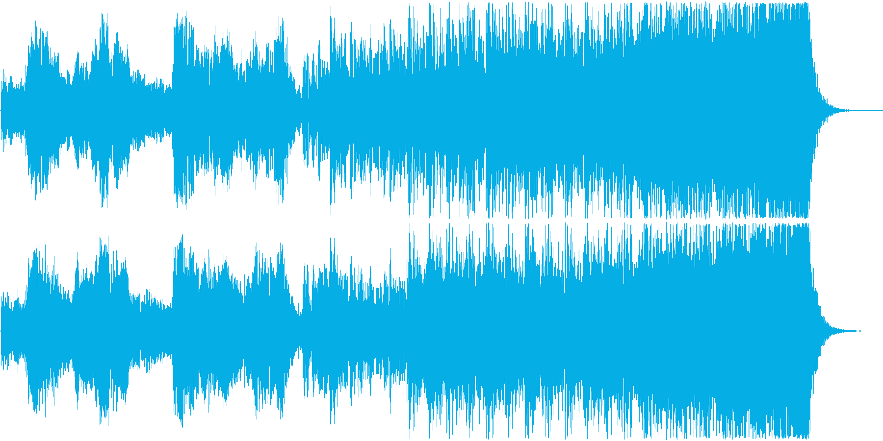 ケルトっぽいトラッドで壮大シネマチックの再生済みの波形