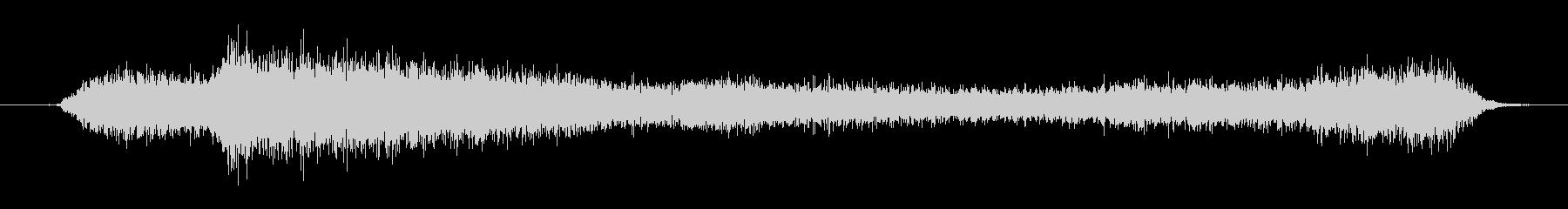 プシュー(スプレーを噴射する音)の未再生の波形