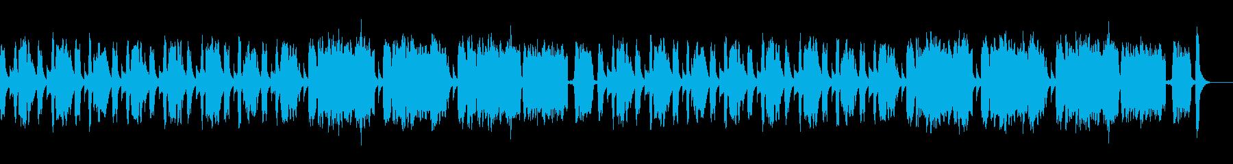 ほのぼのかわいいカリンバ/ピアニカ/木琴の再生済みの波形