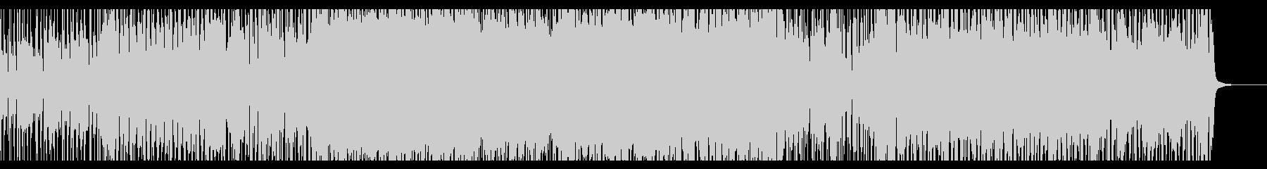 アコギで盛り上がるロックポップスの未再生の波形
