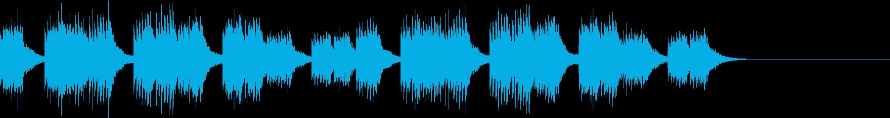 着信・映像場面転換等便利系の再生済みの波形