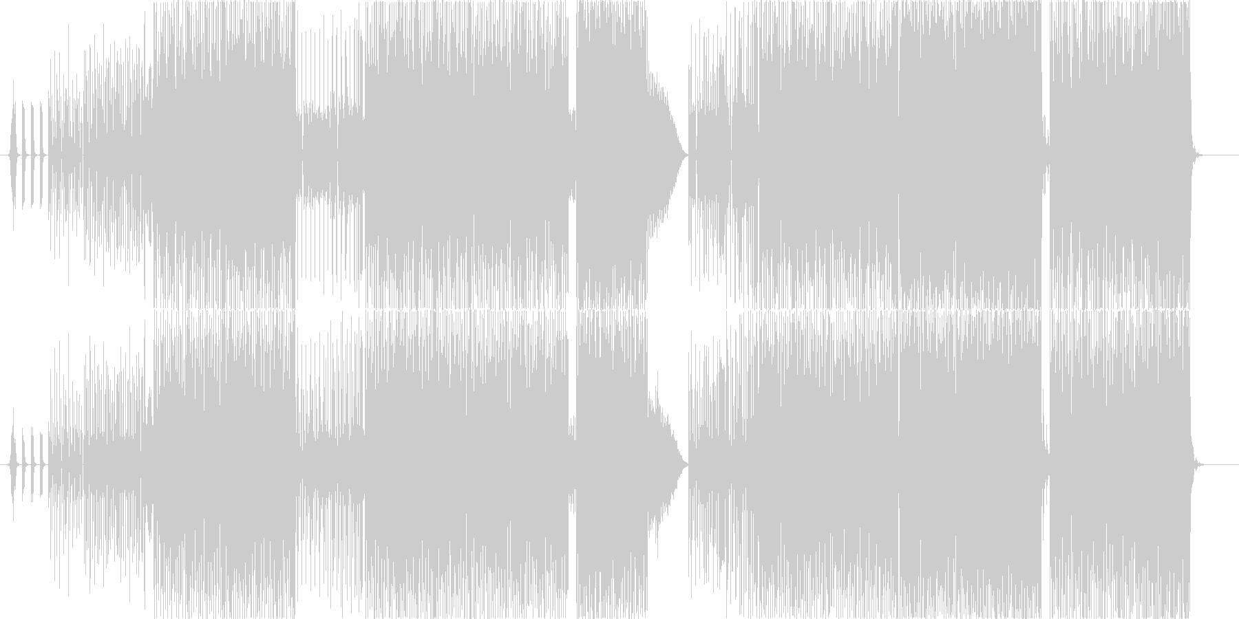 Jinbaの未再生の波形