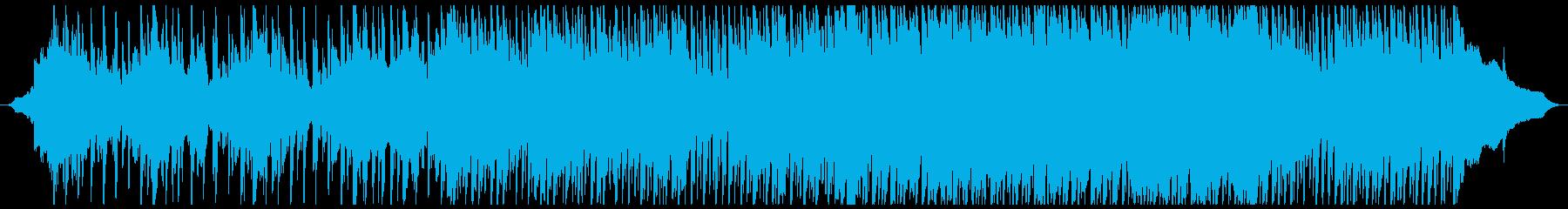 寝起きに聴きたくなるリラックス曲の再生済みの波形