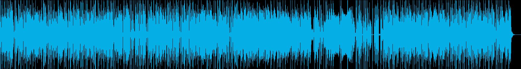 アメリカの青空でハッピーなポップスの再生済みの波形