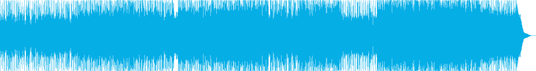 やさしいほっこりドラマチックな癒しの曲の再生済みの波形