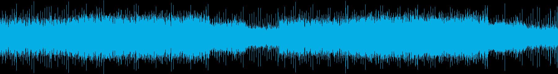 ドラムンベース:真夜中、疾走、ドライブの再生済みの波形