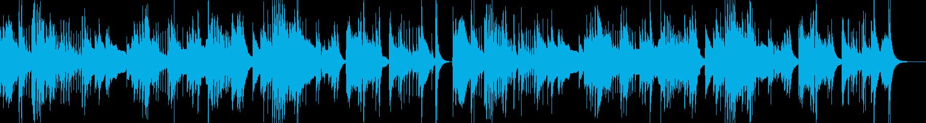 和風 お琴と尺八と三味線の雅な調べ 1の再生済みの波形