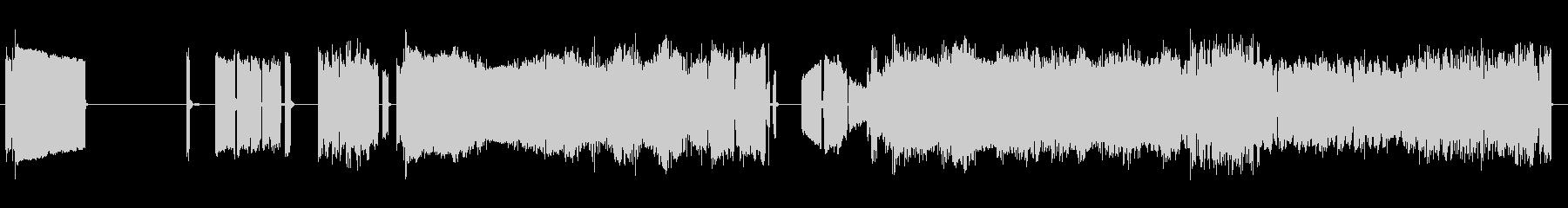 静的干渉スイープ4の未再生の波形