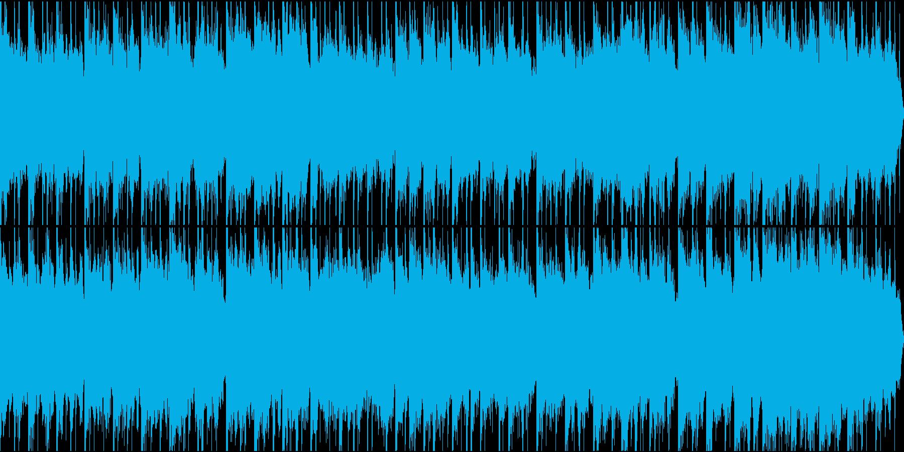 ドキュメンタリーやさしい曲2 リズム入りの再生済みの波形